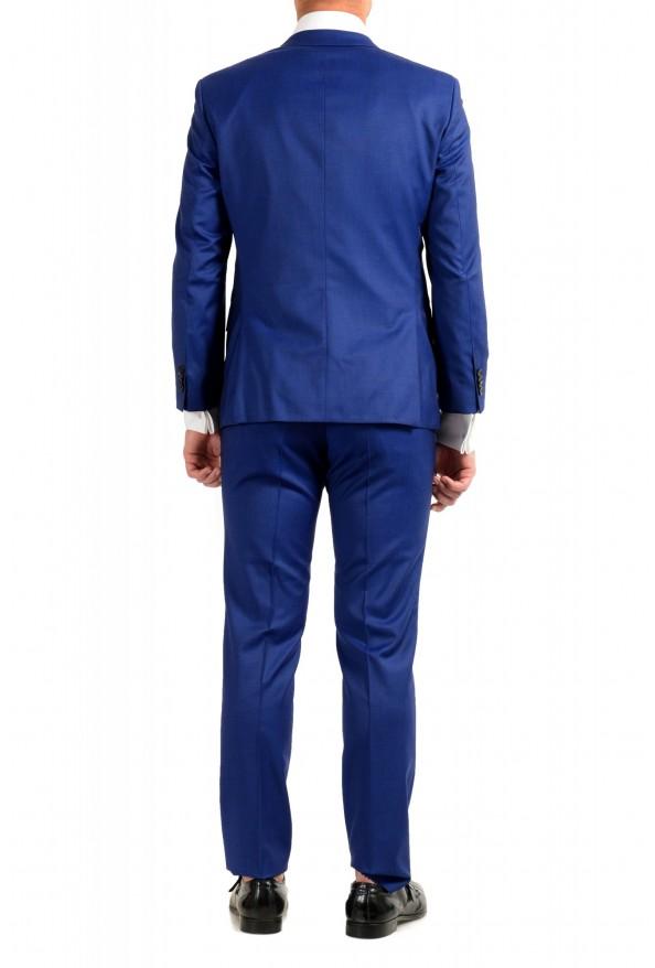 "Hugo Boss Men's ""Huge6/Genius5"" Slim Fit Blue 100% Wool Two Button Suit: Picture 3"