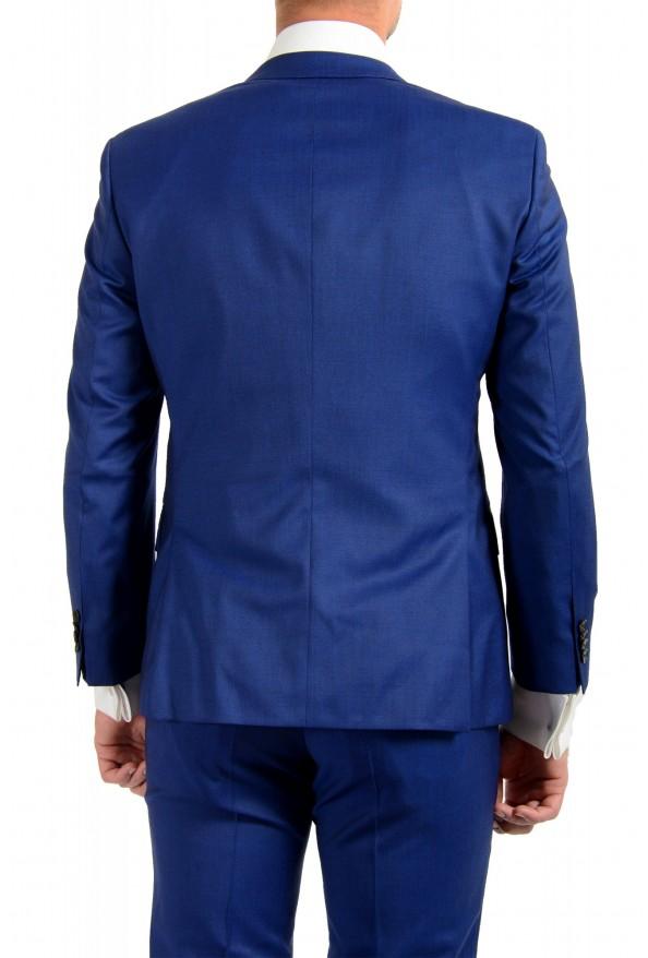 "Hugo Boss Men's ""Huge6/Genius5"" Slim Fit Blue 100% Wool Two Button Suit: Picture 6"