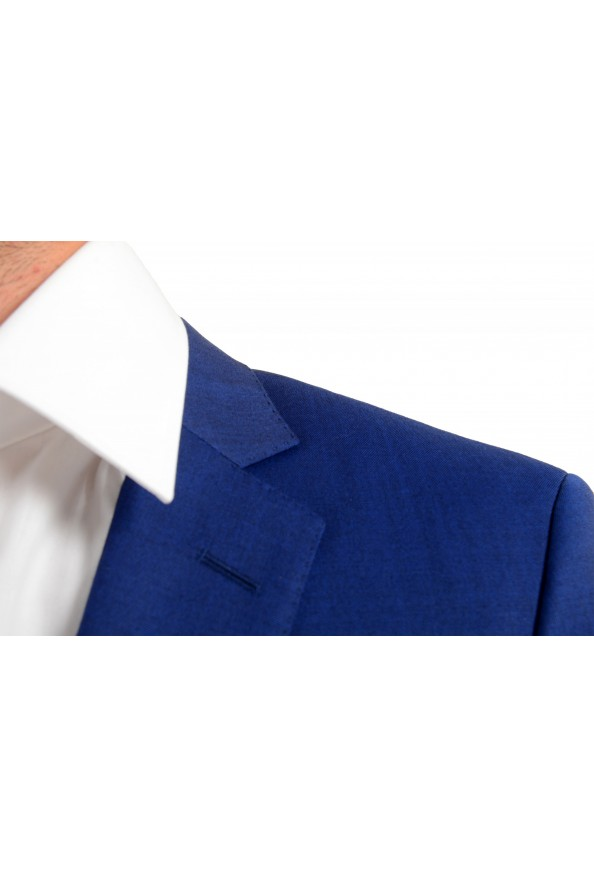 "Hugo Boss Men's ""Huge6/Genius5"" Slim Fit Blue 100% Wool Two Button Suit: Picture 7"