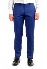 "Hugo Boss Men's ""Huge6/Genius5"" Slim Fit Blue 100% Wool Two Button Suit: Picture 8"