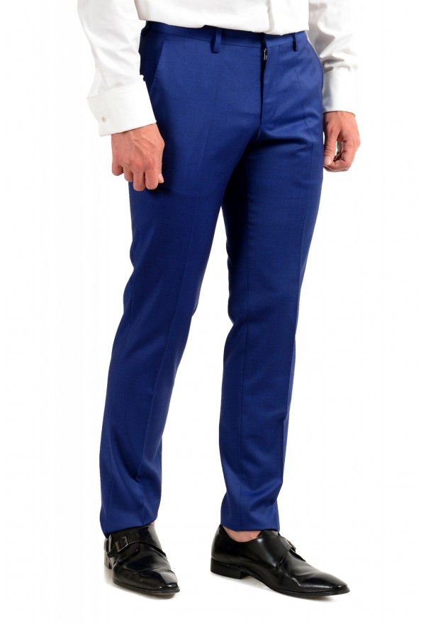 "Hugo Boss Men's ""Huge6/Genius5"" Slim Fit Blue 100% Wool Two Button Suit: Picture 9"