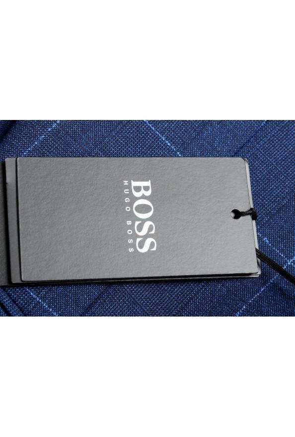 """Hugo Boss Men's """"Novan5/Ben2"""" Slim Fit Plaid 100% Wool Two Button Suit: Picture 11"""