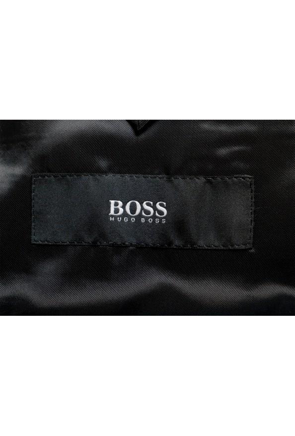 """Hugo Boss Men's """"Novan5/Ben2"""" Slim Fit Plaid 100% Wool Two Button Suit: Picture 14"""