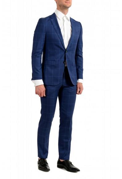 """Hugo Boss Men's """"Novan5/Ben2"""" Slim Fit Plaid 100% Wool Two Button Suit: Picture 2"""