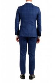 """Hugo Boss Men's """"Novan5/Ben2"""" Slim Fit Plaid 100% Wool Two Button Suit: Picture 3"""