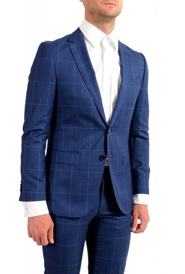 """Hugo Boss Men's """"Novan5/Ben2"""" Slim Fit Plaid 100% Wool Two Button Suit: Picture 5"""
