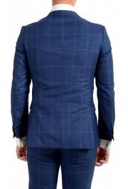 """Hugo Boss Men's """"Novan5/Ben2"""" Slim Fit Plaid 100% Wool Two Button Suit: Picture 6"""