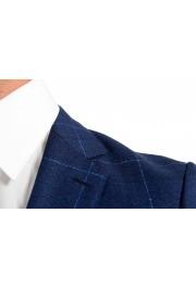 """Hugo Boss Men's """"Novan5/Ben2"""" Slim Fit Plaid 100% Wool Two Button Suit: Picture 7"""