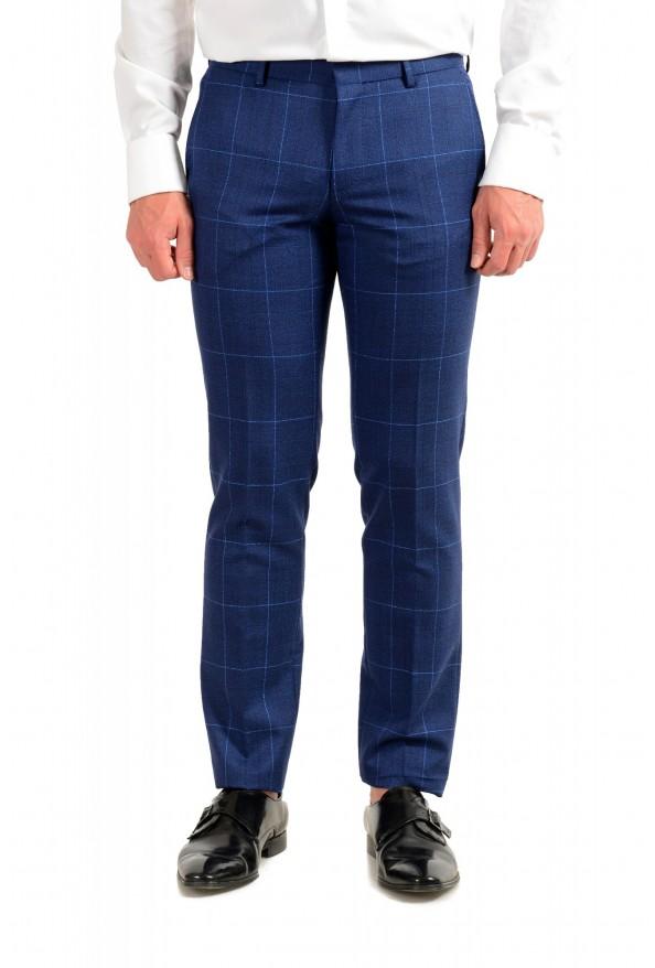"""Hugo Boss Men's """"Novan5/Ben2"""" Slim Fit Plaid 100% Wool Two Button Suit: Picture 8"""