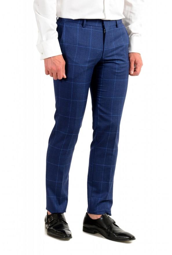 """Hugo Boss Men's """"Novan5/Ben2"""" Slim Fit Plaid 100% Wool Two Button Suit: Picture 9"""