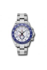 ROLEX 116680 YACHTMASTER ll STAINLESS STEEL BLUE CERAMIC WHITE WATCH