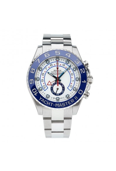 ROLEX 116680 YACHTMASTER ll STAINLESS STEEL BLUE CERAMIC WHITE WATCH: Picture 2