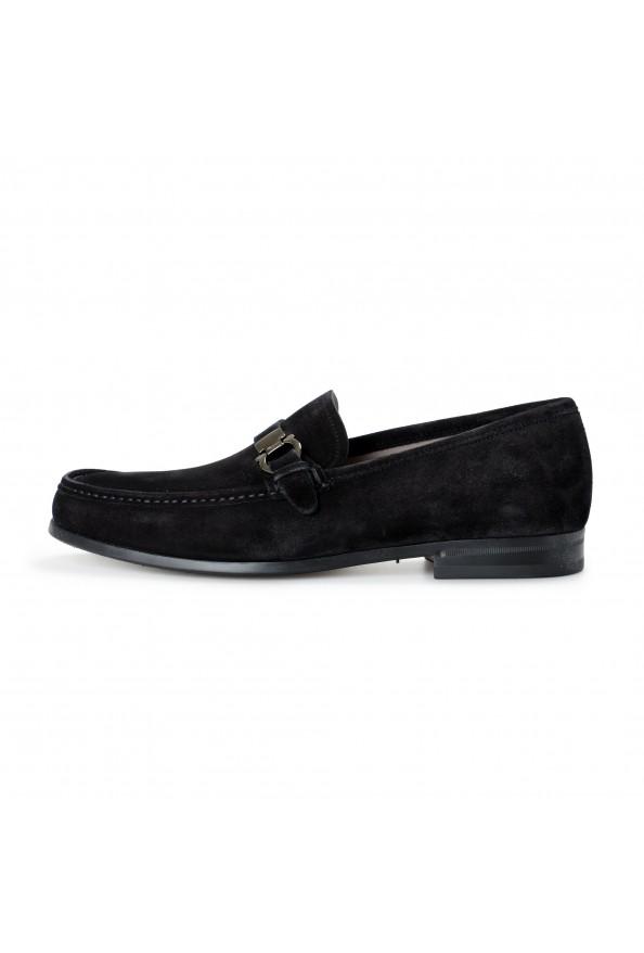 "Salvatore Ferragamo Men's ""ADAM"" Black Suede Leather Slip On Loafers Shoes: Picture 2"