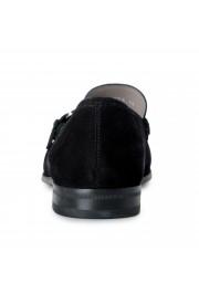 "Salvatore Ferragamo Men's ""ADAM"" Black Suede Leather Slip On Loafers Shoes: Picture 3"