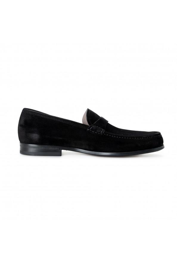 "Salvatore Ferragamo Men's ""ADAM"" Black Suede Leather Slip On Loafers Shoes: Picture 4"