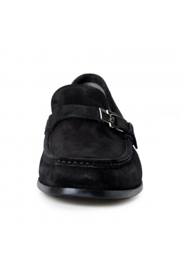 "Salvatore Ferragamo Men's ""ADAM"" Black Suede Leather Slip On Loafers Shoes: Picture 5"