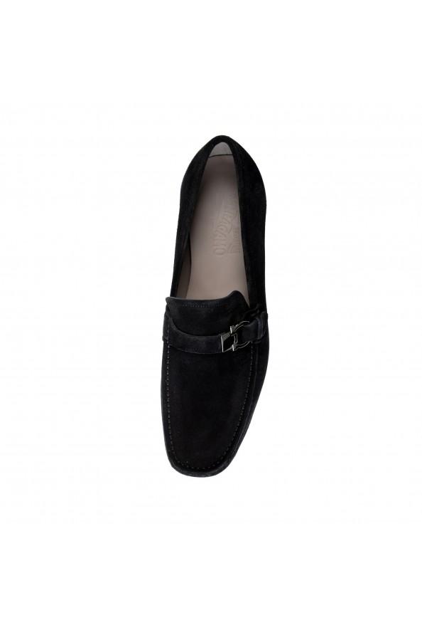 "Salvatore Ferragamo Men's ""ADAM"" Black Suede Leather Slip On Loafers Shoes: Picture 7"
