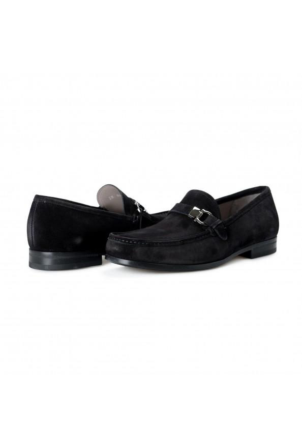 "Salvatore Ferragamo Men's ""ADAM"" Black Suede Leather Slip On Loafers Shoes: Picture 8"