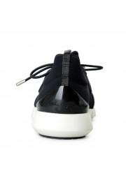 "Salvatore Ferragamo Men's ""ALPE"" Black Canvas Leather Fashion Sneakers Shoes: Picture 3"