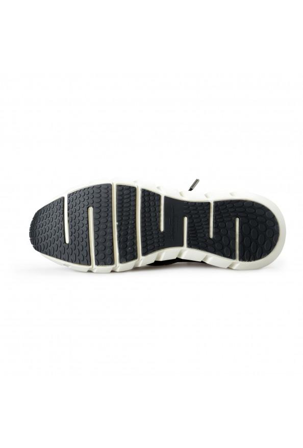 "Salvatore Ferragamo Men's ""ALPE"" Black Canvas Leather Fashion Sneakers Shoes: Picture 6"