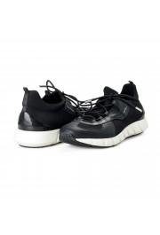 "Salvatore Ferragamo Men's ""ALPE"" Black Canvas Leather Fashion Sneakers Shoes: Picture 8"
