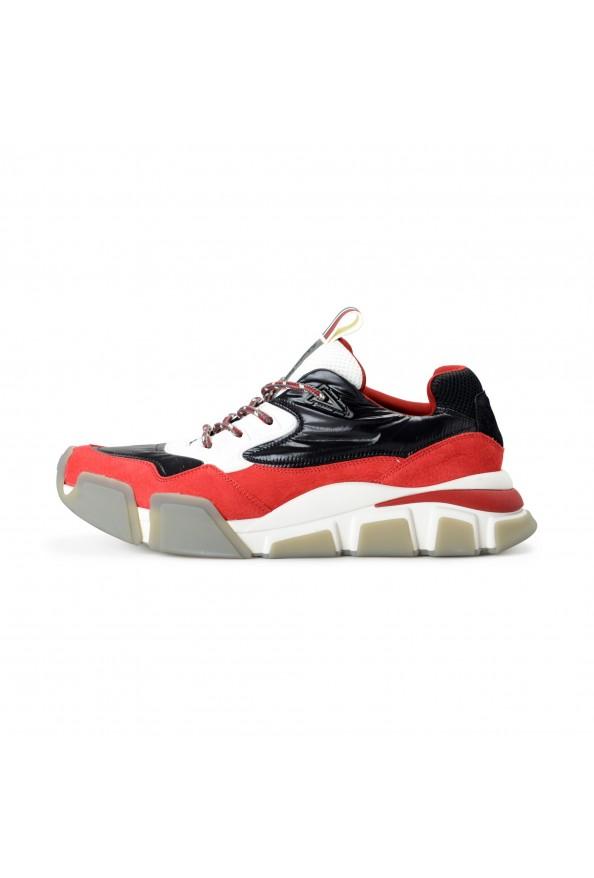 "Salvatore Ferragamo Men's ""BOOSTER8"" Canvas Leather Fashion Sneakers Shoes: Picture 2"