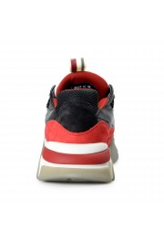 "Salvatore Ferragamo Men's ""BOOSTER8"" Canvas Leather Fashion Sneakers Shoes: Picture 3"