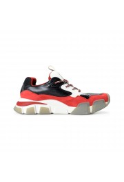 "Salvatore Ferragamo Men's ""BOOSTER8"" Canvas Leather Fashion Sneakers Shoes: Picture 4"
