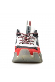 "Salvatore Ferragamo Men's ""BOOSTER8"" Canvas Leather Fashion Sneakers Shoes: Picture 5"