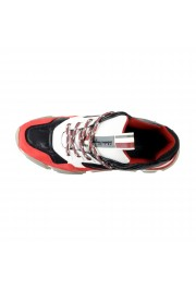 "Salvatore Ferragamo Men's ""BOOSTER8"" Canvas Leather Fashion Sneakers Shoes: Picture 7"