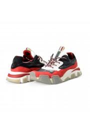"Salvatore Ferragamo Men's ""BOOSTER8"" Canvas Leather Fashion Sneakers Shoes: Picture 8"