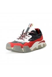 "Salvatore Ferragamo Men's ""BOOSTER8"" Canvas Leather Fashion Sneakers Shoes"