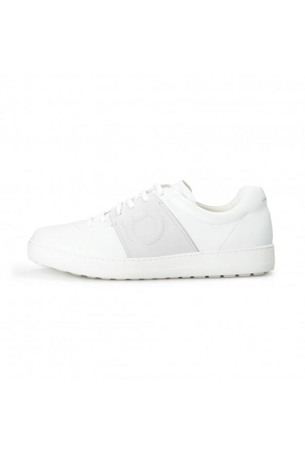"Salvatore Ferragamo Men's ""CULT"" Leather Fashion Sneakers Shoes: Picture 2"