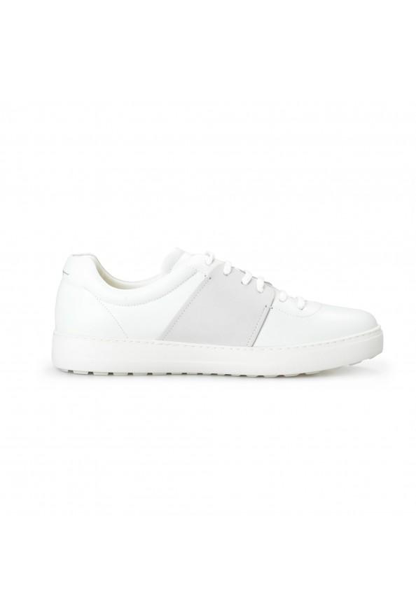"Salvatore Ferragamo Men's ""CULT"" Leather Fashion Sneakers Shoes: Picture 4"