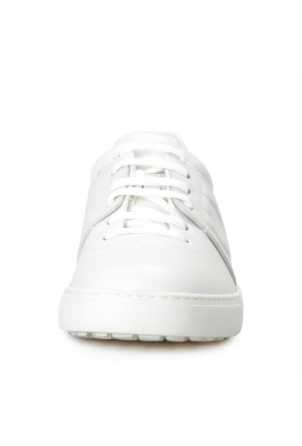 "Salvatore Ferragamo Men's ""CULT"" Leather Fashion Sneakers Shoes: Picture 5"