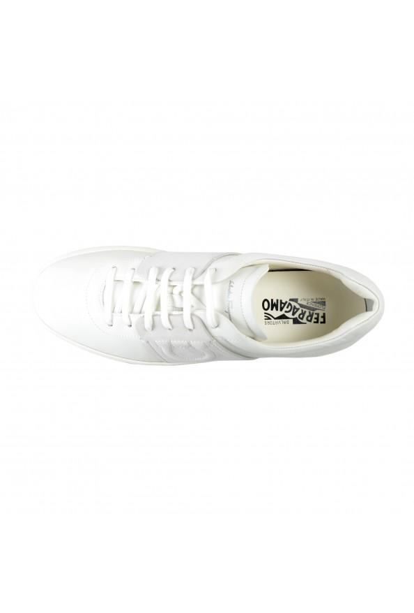 "Salvatore Ferragamo Men's ""CULT"" Leather Fashion Sneakers Shoes: Picture 7"
