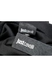 Just Cavalli Women's Black Embellished Velour Sweatshirt: Picture 7
