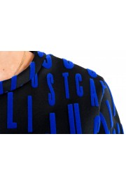 Just Cavalli Women's Black Logo Print Crewneck Sweatshirt: Picture 4