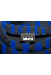 Just Cavalli Women's Black Logo Print Crewneck Sweatshirt: Picture 5