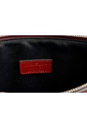 Salvatore Ferragamo Women's Red 100% Leather Logo Wristlet Clutch Bag: Picture 6