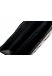 Salvatore Ferragamo Women's Black & Red 100% Leather Wristlet Clutch Bag: Picture 5