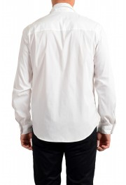Just Cavalli Men's White Button Down Casual Shirt: Picture 3