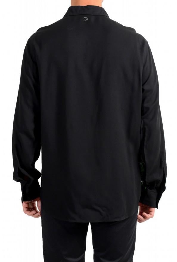 Just Cavalli Men's Multi-Color Button Down Casual Shirt : Picture 3