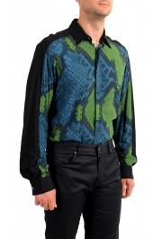 Just Cavalli Men's Multi-Color Button Down Casual Shirt : Picture 4
