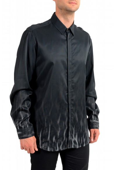 Just Cavalli Men's Button Down Long Sleeve Casual Shirt: Picture 2