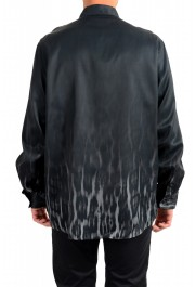 Just Cavalli Men's Button Down Long Sleeve Casual Shirt: Picture 3