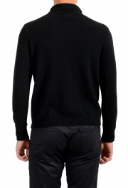 Moncler Men's Black 1/3 Zip Turtleneck Wool Cashmere Sweater : Picture 3