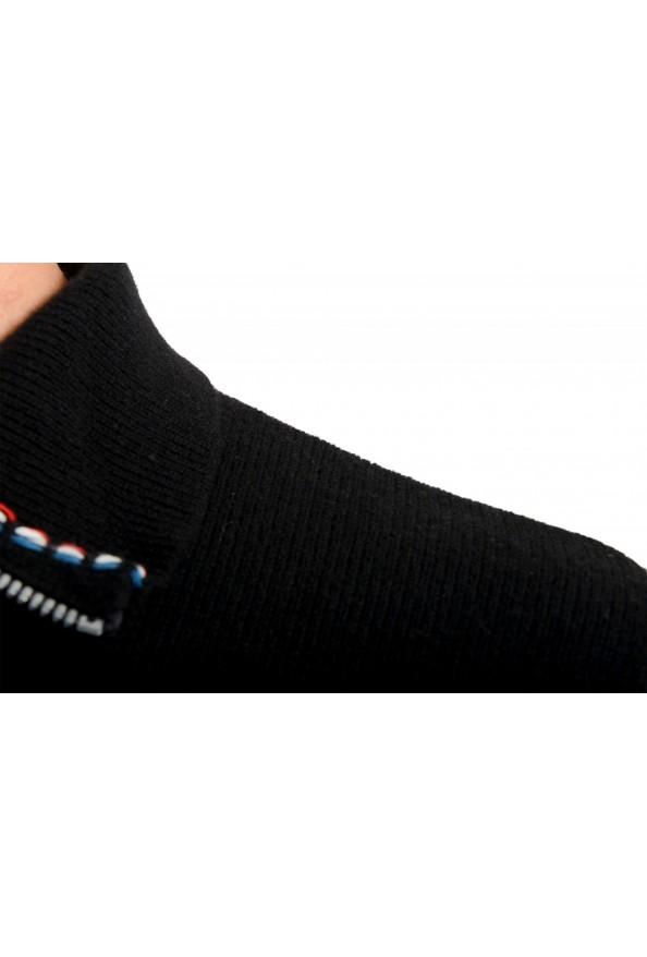Moncler Men's Black 1/3 Zip Turtleneck Wool Cashmere Sweater : Picture 4