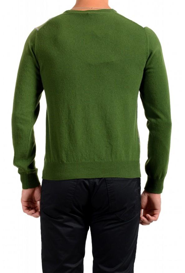 Moncler Men's Multi-Color 100% Wool Crewneck Sweater : Picture 3