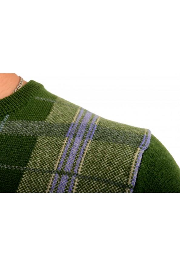Moncler Men's Multi-Color 100% Wool Crewneck Sweater : Picture 4